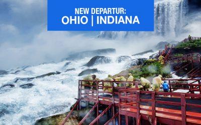 Niagara Falls 2019 – Departing Indiana & Ohio